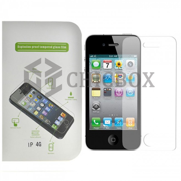 iPhone 4 Explosion Proof Tempered Glass Screen Protector