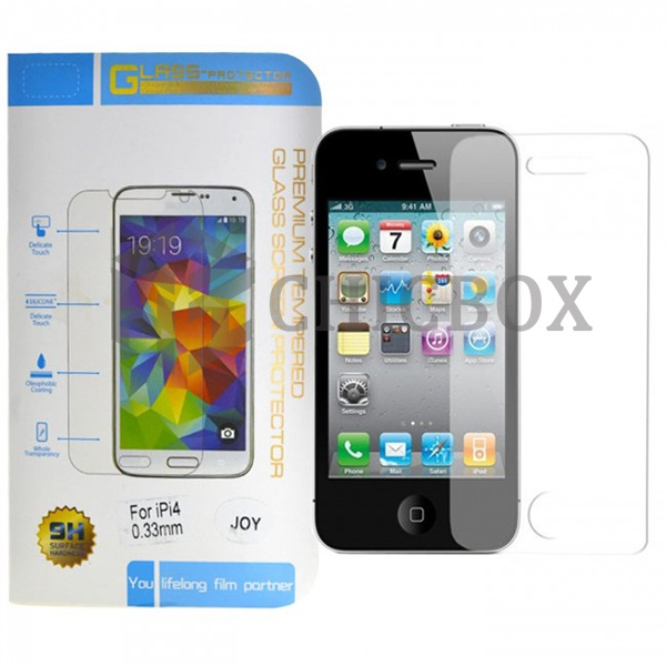 iPhone 4 Premium Tempered Glass Screen Protector