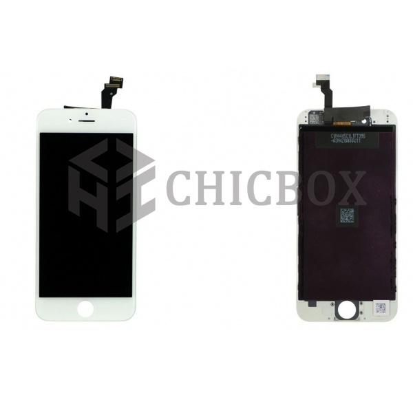 LCD Screen with Digitizer Assembly for Phone 6_ White