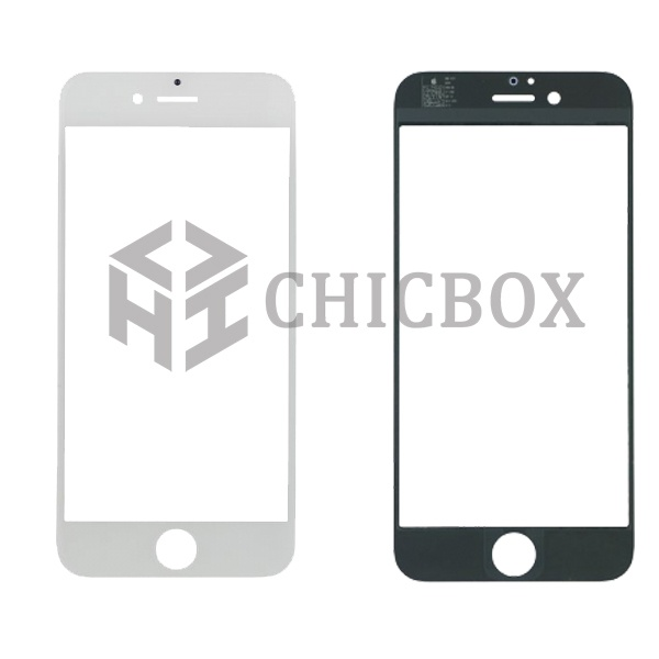 White Front Outer Glass Lens Cover for iPhone 6