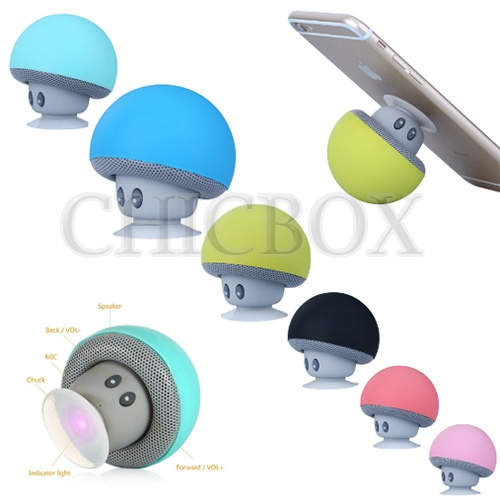 Mini mushroom Bluetooth Wireless Speaker SUPER BASS Portable