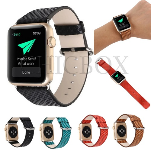 Young Polka Dot style Bracelet Strap Sport Band For iWatch Apple Watch 38_42mm_with retail package