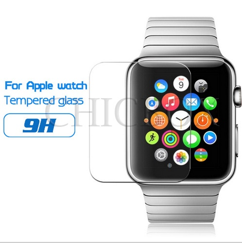 Premium Tempered Glass Film Screen Protector For Apple Watch 38mm 42mm_with retail package