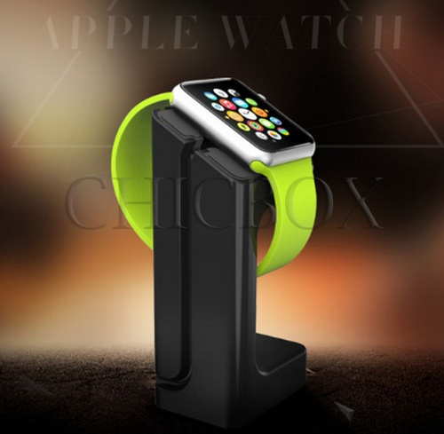Charging Stand for Apple Watch Docking Station Holder_w_retail package